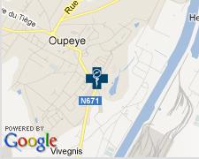 Plan d'accès Google Maps
